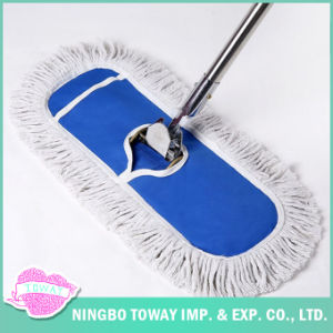 Large Size Microfiber Floor Cleaning Flat Industrial Mop pictures & photos