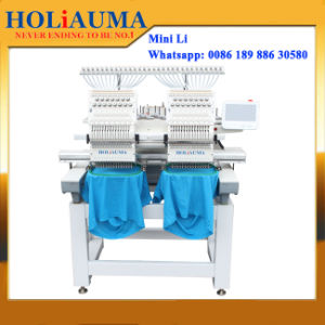 Professional Factory Double Heads Embroidery Machine Prices for Sale pictures & photos