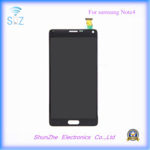 Mobile Cell Smart Phone Touch Screen LCD for Samsung Note 4 Displayer Assembly pictures & photos