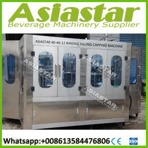 Automatic Bottle Packaging Machine Mineral Water Plant Machinery Cost pictures & photos