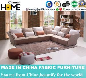 New Modern Korean Design Fabric Sofa with Corner (HC572) pictures & photos