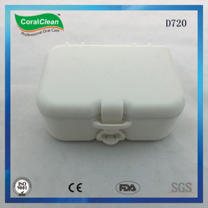 Oral Care Denture Box with a Mirror in Case pictures & photos