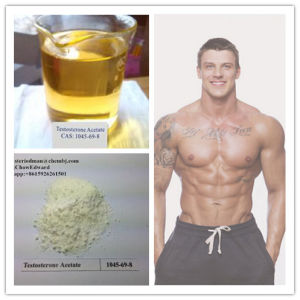 Healthy Muscle Growth Anabolic Steroid Hormone Powder Testosterone Acetate pictures & photos