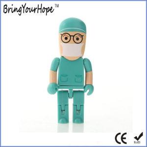 Robot Surgeon Doctor Shape USB Flash Drive (XH-USB-147) pictures & photos