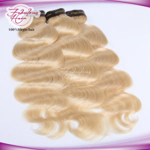 Fabulous Human Hair 613# Body Wave Weave Blonde Weft pictures & photos