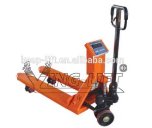 Hydraulic Hand Pallet Truck with Weigh Scale pictures & photos