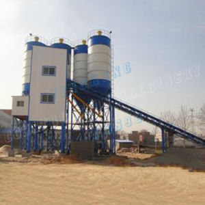 High Efficiency Concrete Batching Plant Hzs90 for Sale pictures & photos
