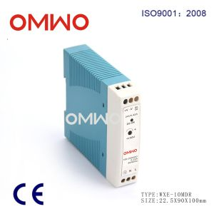 Wxe-10mdr-12 Industrial DIN Rail Power Supply pictures & photos