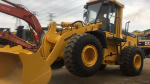 Used Komatsu Wa350-3 Wheel Loader for Sale Used Cat950 Loaders pictures & photos