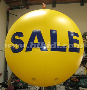 Hot Sale Round PVC Helium Balloon for Advertisement K7043 pictures & photos