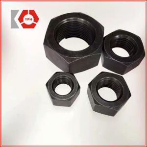 ISO4032 Hexagon Head Black Nut pictures & photos