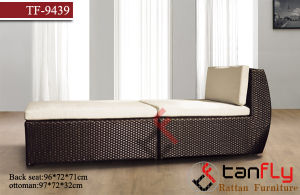 UV-Resistant PE-Rattan Outdoor Beach Chaise Lounger pictures & photos
