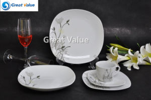 2017 New Design Porcelain White Dishes Set pictures & photos