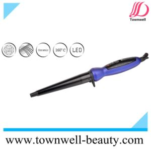 Ceramic Coating LED Hair Curling Wand for Worldwide Use pictures & photos