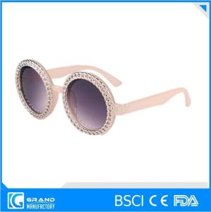 Wholesale Safety Metal Decoration Sunglasses for Women pictures & photos