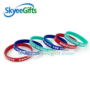 Unisex Popular Party Event Silicone Wristband pictures & photos