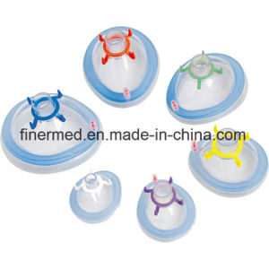 Anesthesia PVC Cushioned Mask pictures & photos