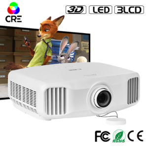 Chinese Projectors Big Cinema LCD TV Lowest Price 1080P Digital Full HD Projector pictures & photos