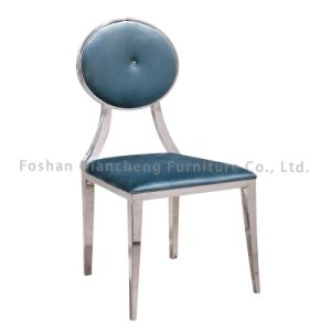 Modern High Quality Stainless Steel Fabric Dining Chair pictures & photos