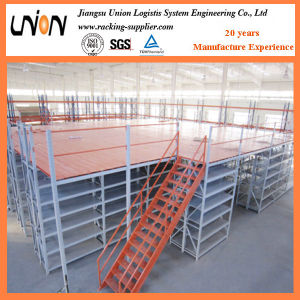 Heavy Duty Multi Level Flooring Mezzanine Rack pictures & photos