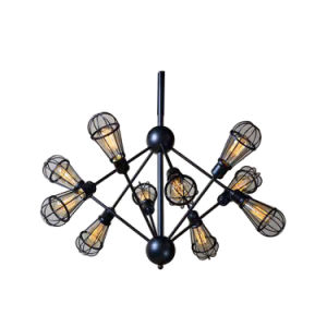 American Style Vintage Flashlight Suspended Black Pendant Light Fixtures Oz-Al628 pictures & photos