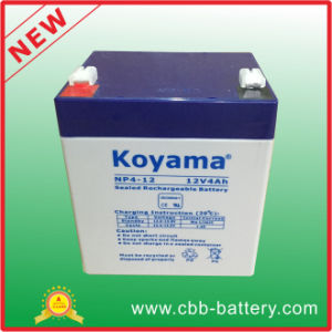 12V4ah Storage Battery Selead Lead Acid Battery Valve Reguated 12V4ah Battery pictures & photos