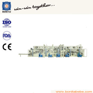 Semi-Servo High-Speed Adult Diaper Making Machine pictures & photos