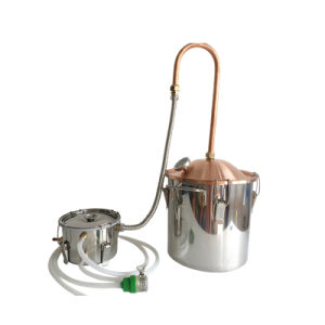 10L/3gal Easy Operating Copper Lid Pipe Home Use Moonshine Distiller pictures & photos