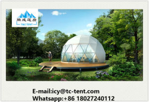 Colourless Dome Shaped Tent Half Sphere Geodesic Tent with SGS pictures & photos