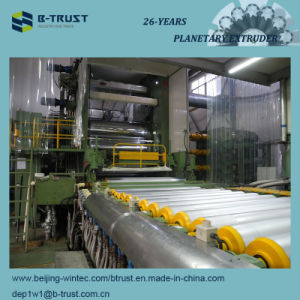 5 Roll Calender/Calendering Line for Making PVC Food Packing Films pictures & photos