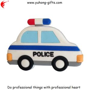2017 Police Car Shape Refrigerator Magnet for Promotion (YH-FM122) pictures & photos