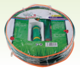 15m 1/2 PVC Hose with Hose Nozzle Set pictures & photos