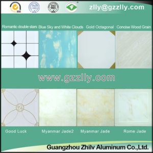 False Building Material Roller Coating Printing Ceiling pictures & photos