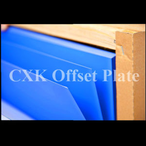 China Aluminum Offset Printing UV Ctcp Plate Blue Coating pictures & photos