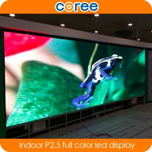 Indoor High Definition SMD P2.5 Full Color LED Display pictures & photos