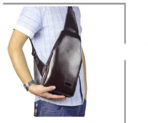 Men′s Chest Pack, Korean Fashion Leisure Diagonal Package, Casual Bag pictures & photos