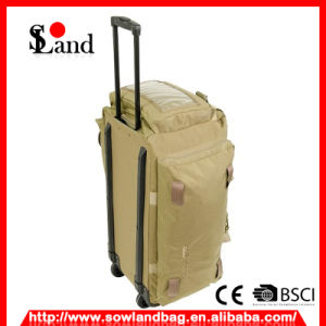 Tan Cordura Fabric Military Trolley Bag pictures & photos