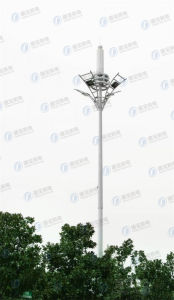 Customed Durable Communication Landscaped Steel Tower