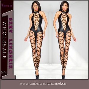 Sexy Woman PVC Vinyl Lingerie (TCLP90429) pictures & photos