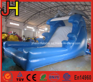 Dolphin Inflatable Slide Dolphin Inflatable Dry Slide pictures & photos