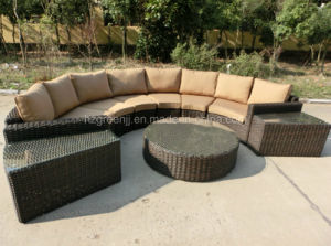 High Quality Half Round Sofa with Roundwicker pictures & photos
