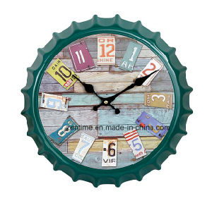 Colorful Frame Unique Style Fashionable Promotional Wall Clock pictures & photos