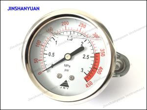 Og-006 Industrial Pressure Gauge with Clamp/Liquid Filled Manometer pictures & photos