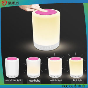 Popular portable bluetooth speaker with touch sensor lamp pictures & photos