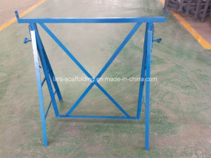 Painted Steel Folding Scaffolding Trestle with Top Quality pictures & photos