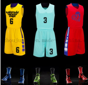 OEM Training Team Uniform Basketball Jersey for Promotion pictures & photos