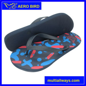 Hot Selling Wholesale PE Flip Flop for Men pictures & photos