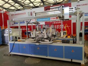 Automatic High Frequency Wood Frame Corner Joint Machine Tc-868A pictures & photos