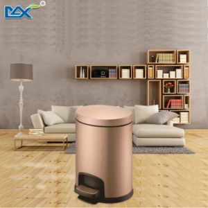 Stainless Steel Home Kitchen Recycling Dust Pedal Waste Bin pictures & photos