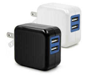 Dual USB Mobile Charger Dual USB Battery Charger pictures & photos